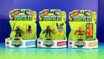 TMNT Teenage Mutant Ninja Turtles Half Shell Heroes Dojo Mikey Raph & Leo Train