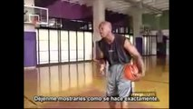 "Basketball Tutorial by Michael Jordan ""Crossover And Fade Away Shots"""