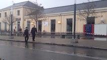 Un obus est découvert dans la gare de Laval
