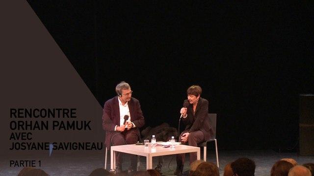 Rencontre Orhan Pamuk (1/3)- Cinéma du Réel 2016