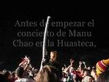 Torre de vasos con Manu Chao en la Huasteca