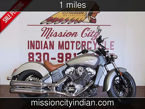 2015 Indian Scout   New Motorcycles – Boerne,Texas – 2015-04-03