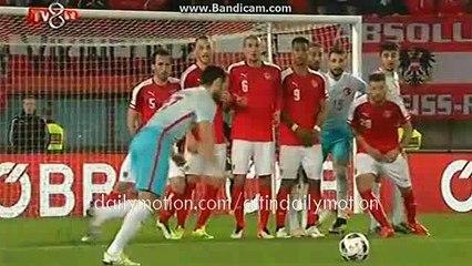 Hakan Calhanoglu Free Kick Goal HD - Austria 1-1 Turkey - 29.03.2016