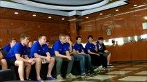 Conference  Slovakia vs Bulgaria U18 in Andorra European Championship