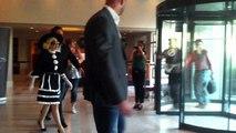 Lady Gagas Bodyguard -- FEROCIOUS Takedown in Romania