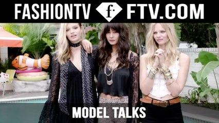 Forever 21 Models Backstage with Model Talks | FTV.com