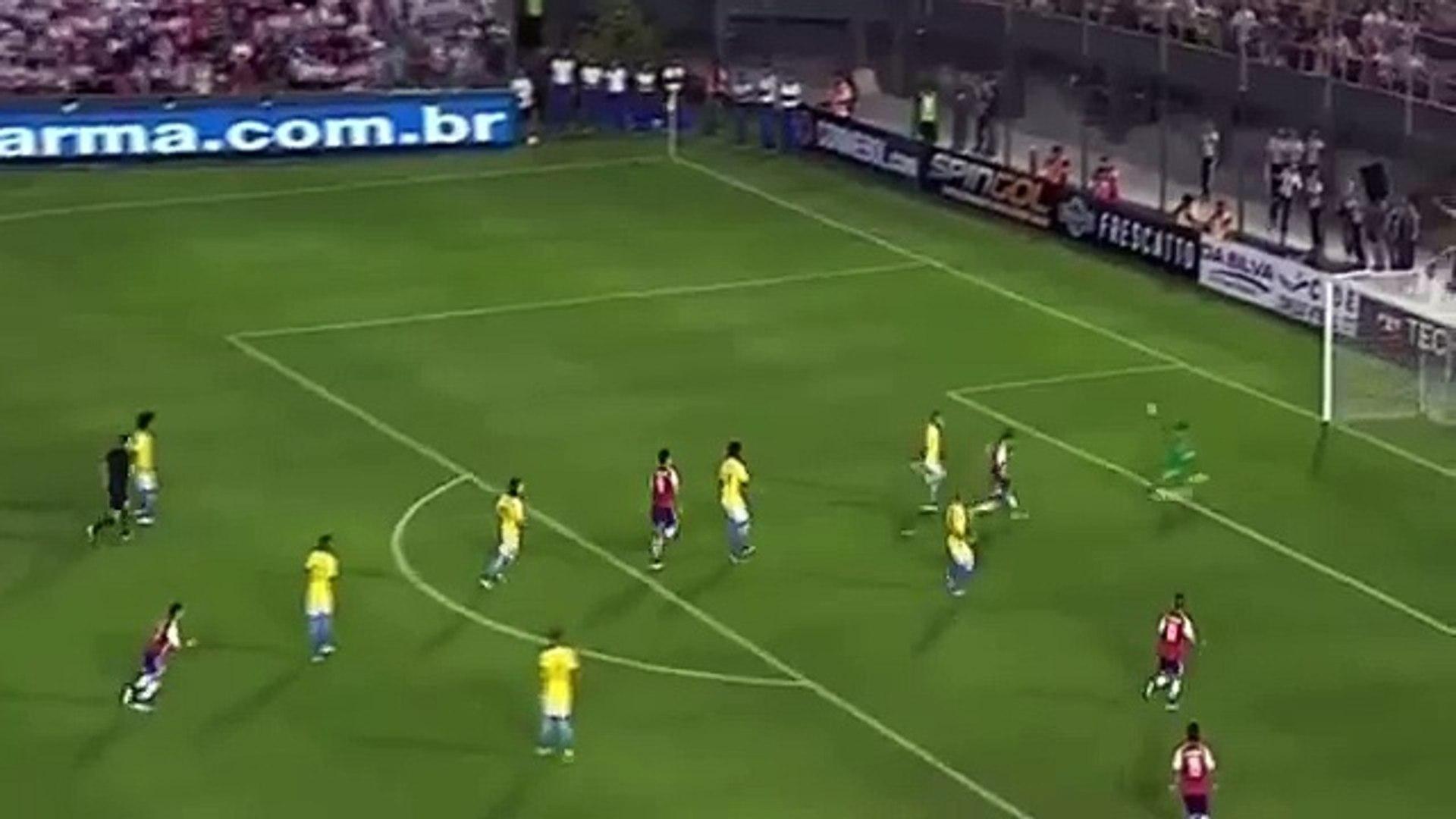 Edgar Benitez Goal ~ Paraguay vs Brazil 2-0
