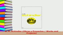 Download  R M Schindler Obras y Proyectos  Works and Projects Download Online