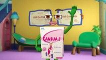 Clip hoạt hình Cansua3+ mới nhất, được nhiều trẻ em yêu thích