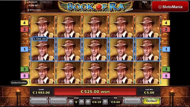 Book of Ra BIG WIN // Casino Stargames – Vollbild Forscher  Megagewinn bei 50 Cent Einsatz