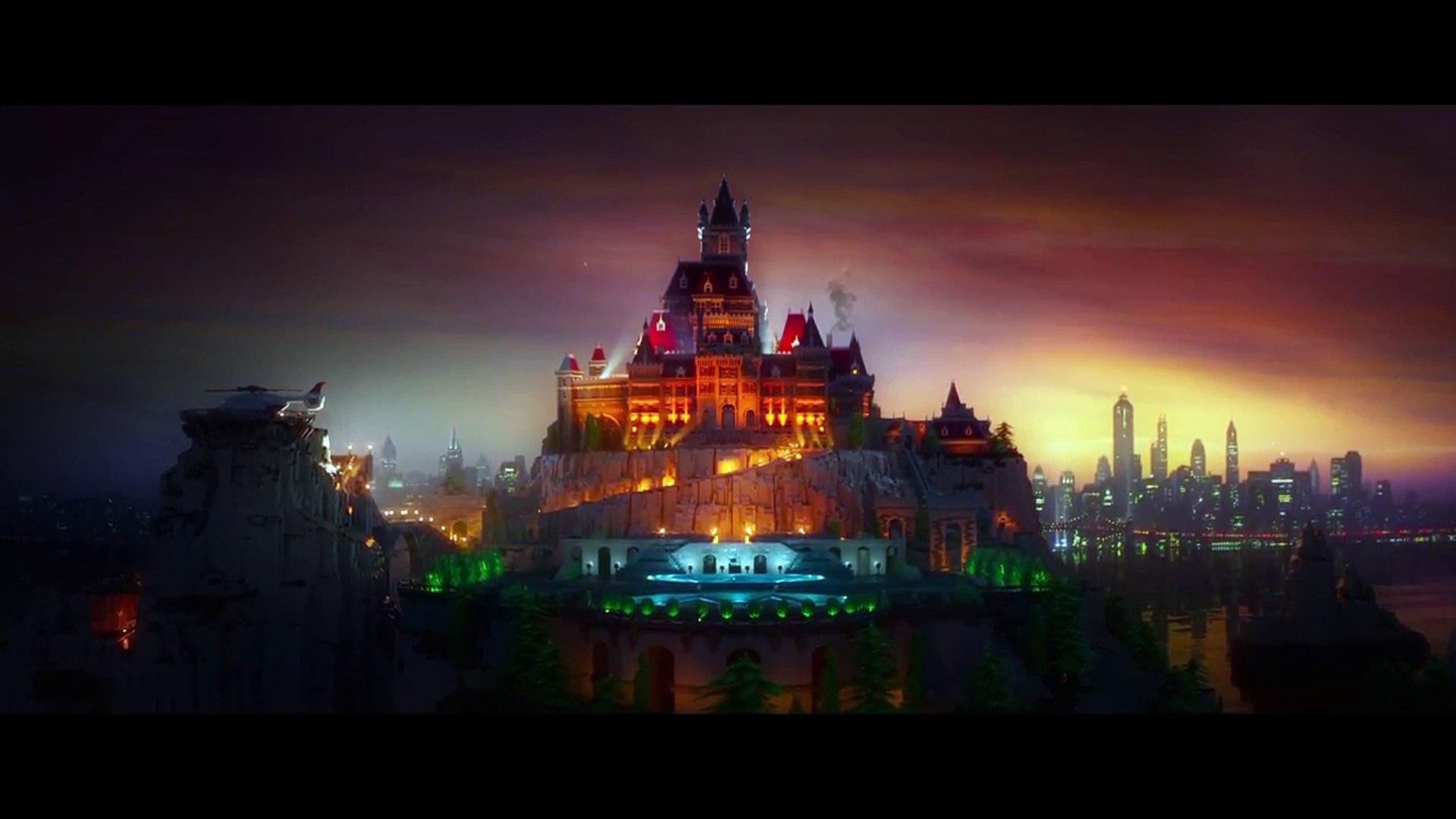 Лего Бэтмен фильм Официальный трейлер #2 Уэйн Манор 2017 Уилл Арнетт Комедия фильм HD