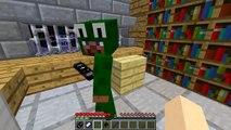 Minecraft PRISON BREAK - LITTLE LIZARD, THE NEW PRISON GUARD!!