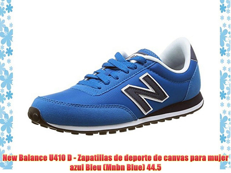 new balance bleu mujer