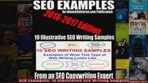 SEO Examples 10 Illustrative SEO Writing Samples