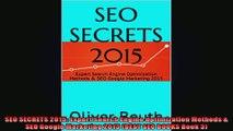 SEO SECRETS 2015 Expert Search Engine Optimization Methods  SEO Google Marketing 2015