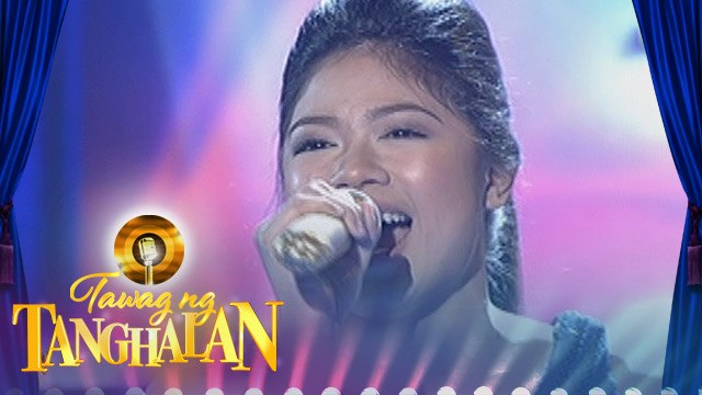 """Tawag ng Tanghalan: Mary Gidget Dela Llana - """"Let It Go"""" (Semifinals)"""