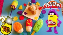 PLAY DOH EGGS SURPRISE POPSICLES  PEPPA PIG DISNEY PRINCESS DORA HELLO KITTY TOYS | Toy Collector