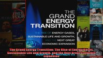 The Grand Energy Transition The Rise of Energy Gases Sustainable Life and Growth and the