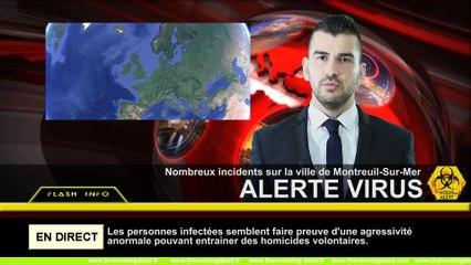 Montreuil-sur-Mer : des patients contaminés par un phénomène inexpliqué sont poussés par une folle envie de courir pour fuir