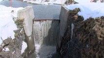 Le barrage du Mont-Cenis mis à nu