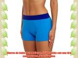Merry Style Shorts de Baño para Mujer Modelo Sara (Azul (60009)/Azul (60118) 36)