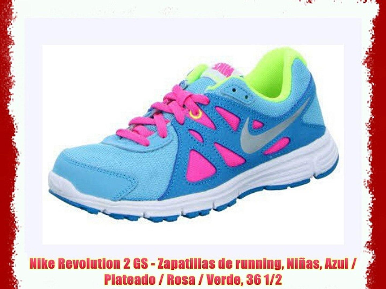 nike zapatillas de running niñas rosa