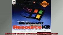 Microsoft Windows NT Workstation 40 Resource Kit