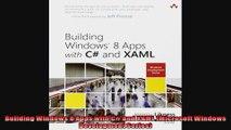 Building Windows 8 Apps with C and XAML Microsoft Windows Development Series