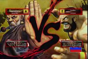 SF 4 G2 Championship from First to Finals - Gouken ( RuLeZ ) vs. Zangief / Sagat / Akuma / Cammy