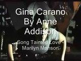 Gina Carano - Tainted Love - Marilyn Manson