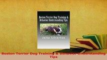 PDF  Boston Terrier Dog Training  Behavior Understanding Tips Free Books