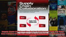 Supply Chain Collaboration How to Implement CPFRR and Other Best Collaborative Practices