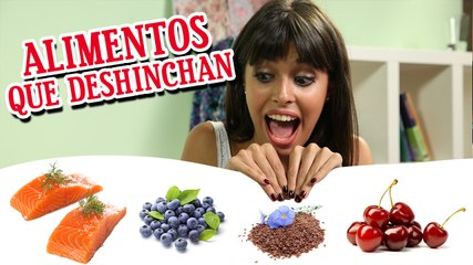 Alimentos que deshinchan | BrencaLook