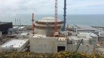 Le chantier de l'EPR de Flamanville