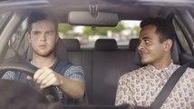 Campagne de prévention routière décalée contre l'usage du téléphone au volant