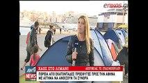 Πορεία προσφύγων στην Αθήνα με αίτημα να ανοίξουν τα σύνορα