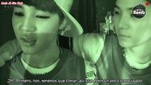 BANGTAN BOMB ~ Tom and Jerry SUGA & Jimin and Jin [Sub Español]