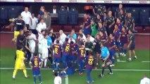 TLQO Vintage:  Barcelona-Real Madrid  3-2 /  Rojas a Marcelo, Özil y Villa y el dedo en el ojo de Mou (17/08/2011)