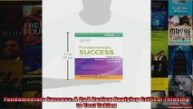 Fundamentals Success A QA Review Applying Critical Thinking to Test Taking