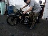 Moto DKW SB 350cc  1937