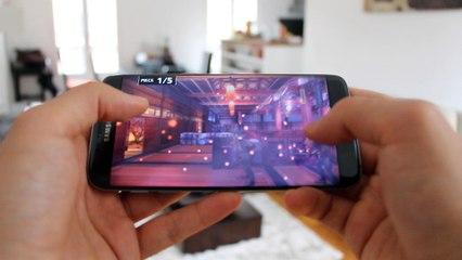 Test du Galaxy S7 Edge