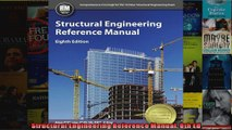 Structural Engineering Reference Manual 8th Ed