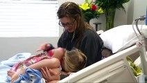 Sa mère fait un malaise dans la piscine et sa fille de 5 ans lui sauve la vie !