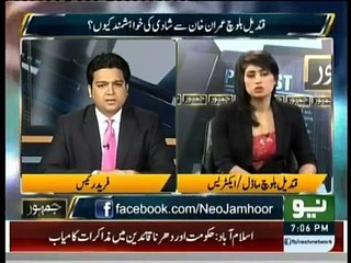 Qandeel Baloch Special Interview With Fareed Raees in Jamhoor Part 1