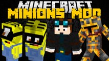 Minecraft: MINIONS MOD ft. THE DIAMOND MINECART (Despicable Me Minions) Mod Showcase