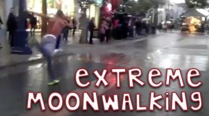 Extreme Moonwalking!