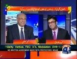 Najam Sethi's interesting reply on double standards in dharna handling