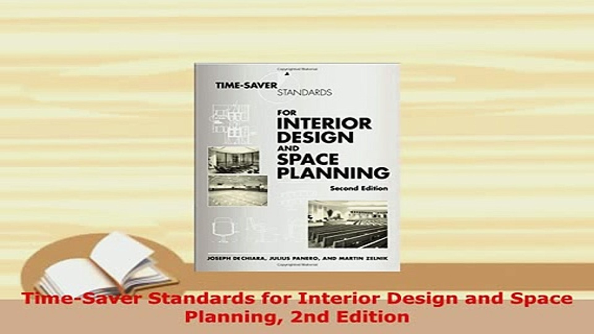 Download Timesaver Standards For Interior Design And Space Planning 2nd Edition Download Full Ebook Video Dailymotion