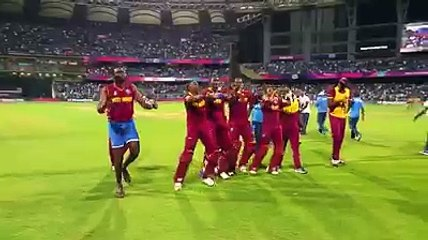 watch The Windies Dancer After A Great Win Against India