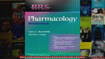BRS Pharmacology Board Review Series
